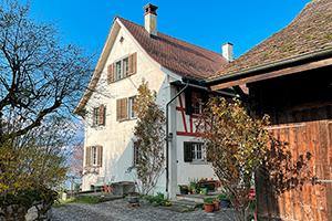 Winzerhaus in der Schweiz